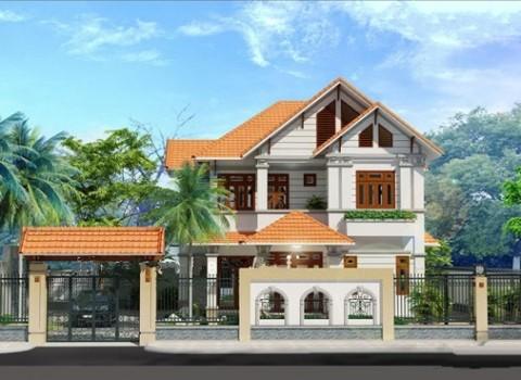 Công trình nhà anh Quân tại Bình Sơn được Quang Phúc thiết kế xây dựng