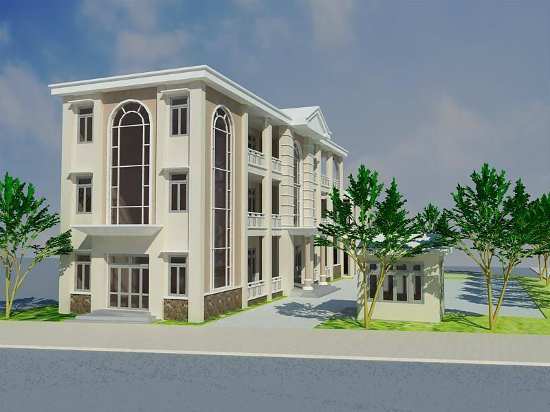 Một công trình được thiết kế xây dựng từ Quang Phúc