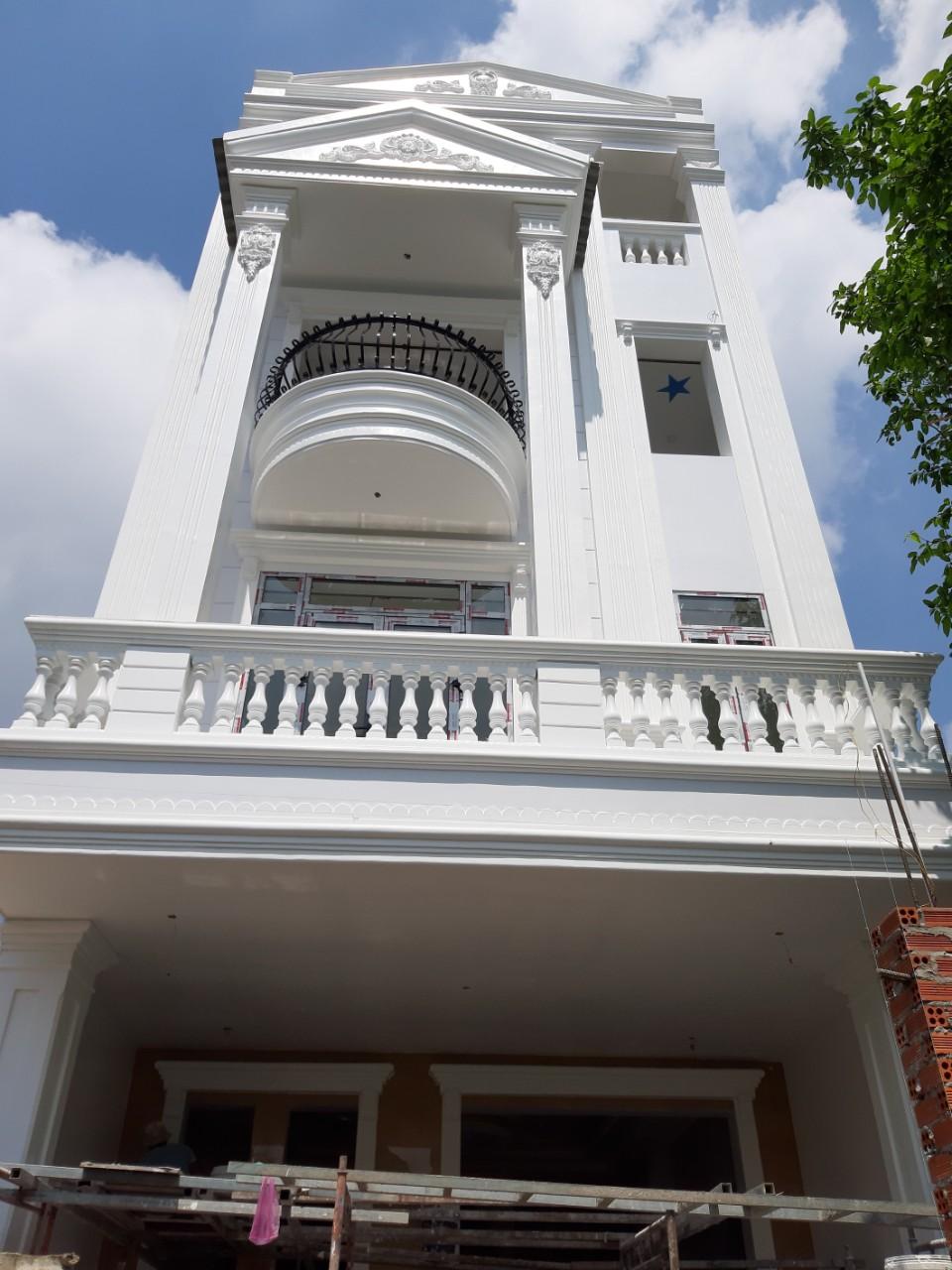 Một công trình nhà phố được xây dựng bởi Quang Phúc