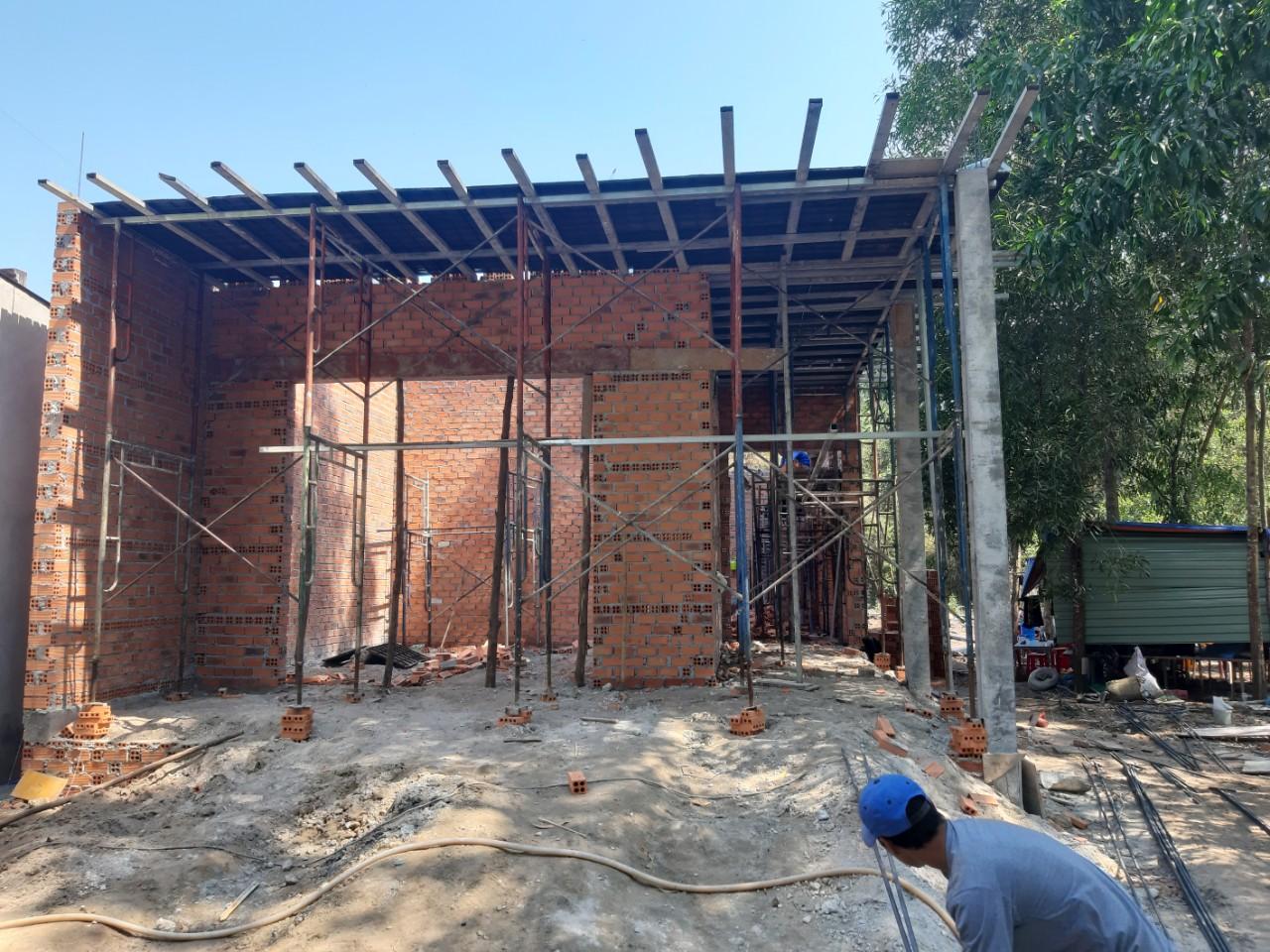 Một công trình xây dựng được Quang Phúc xây dựng