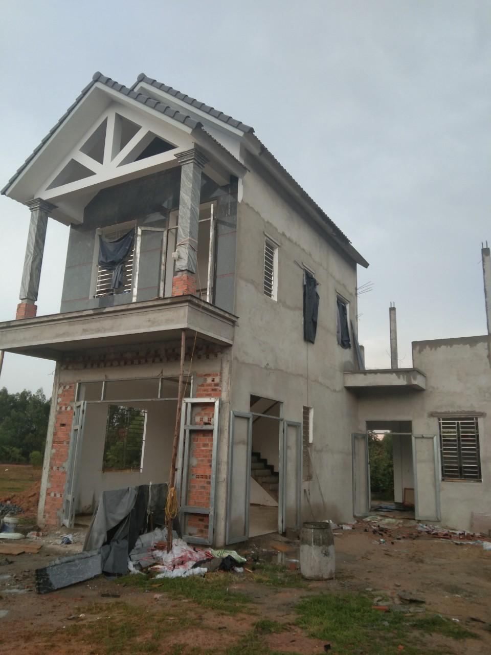 Một công trình xây dựng ở Quảng Ngãi do Quang Phúc thực hiện