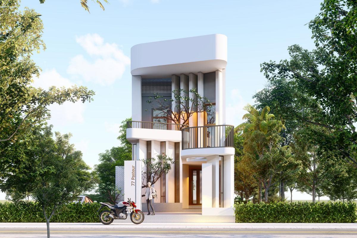 Công ty thiết kế xây dựng nhà phố tại Minh Long