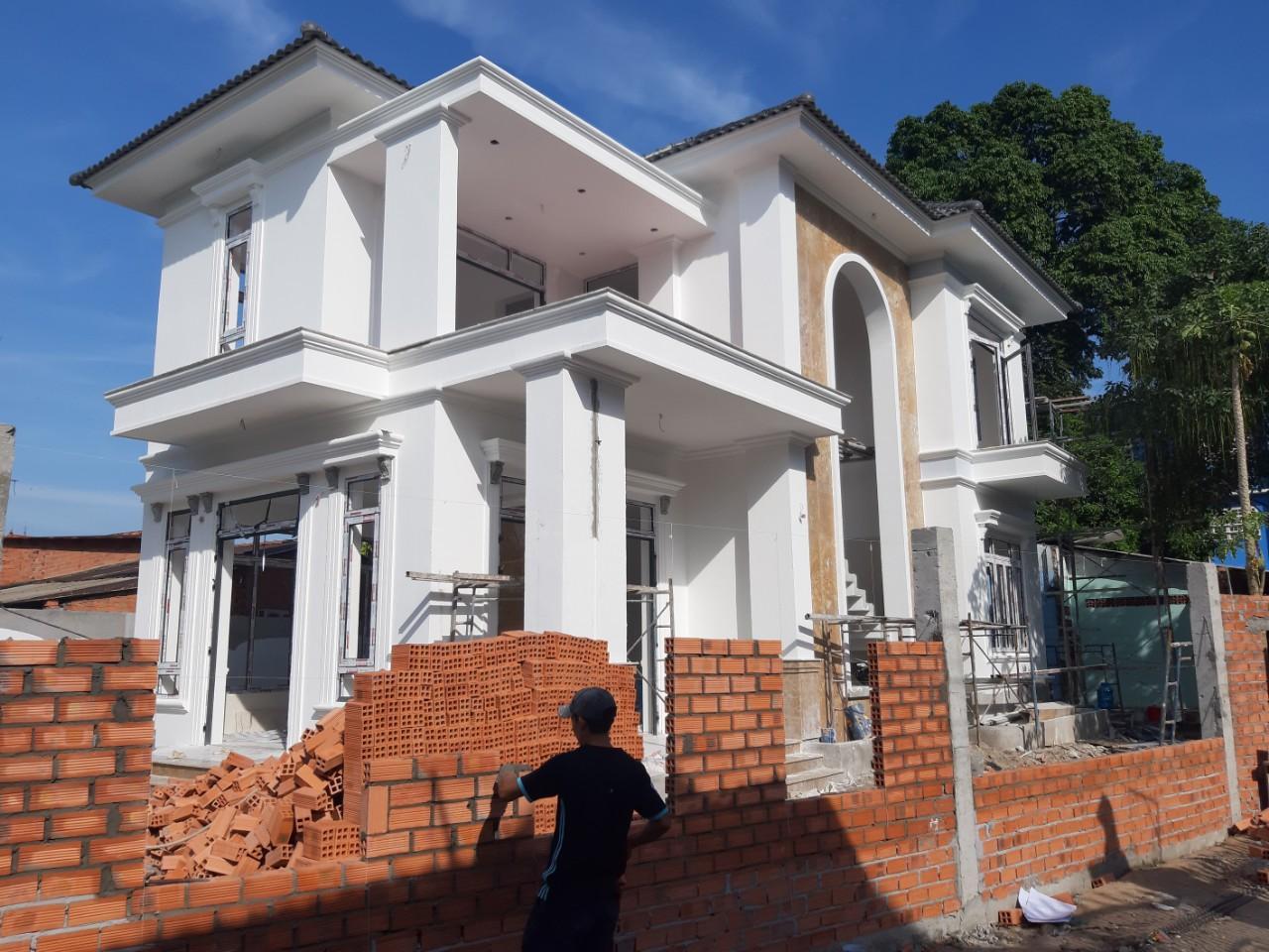 Một công trình xây dựng đang được Quang Phúc thực hiện