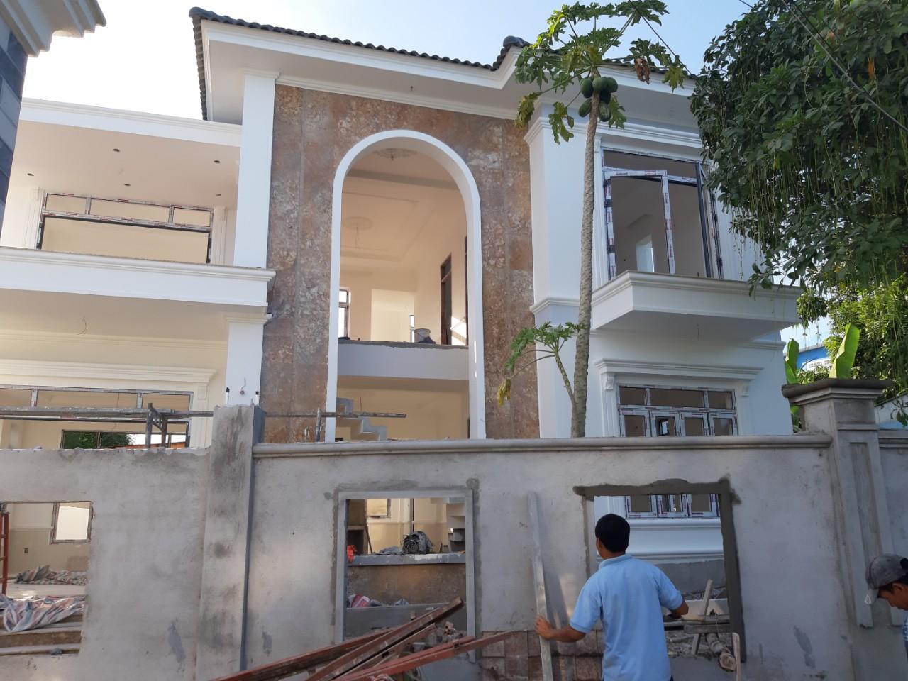 Một công trình xây dựng do Quang Phúc thực hiện tại Trà Bồng Quảng Ngãi