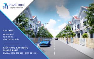 Thiết kế thi công tại Khu dân cư Tịnh Đông tỉnh Quảng Ngãi