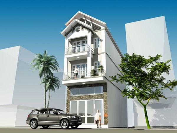 Những mẫu nhà 3 tầng mái thái đẹp mắt